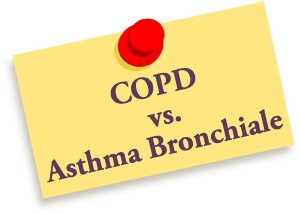 copd vs asthma bronchiale